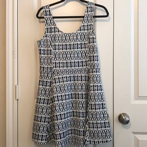 H&M fit and flare summer dress. New with tags. 14
